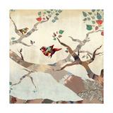 Tweet for Spring II Giclee Print by Anna Polanski