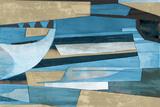 Cubist Shapes Kunstdruck von Anna Polanski