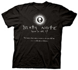 Death Note - How to Use It T-shirts