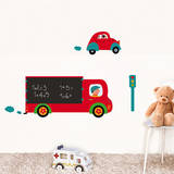Truck Chalkboard Wall Decals Wall Decal