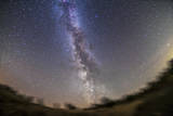 The Summer Milky Way on a Clear Moonless Evening in Alberta, Canada Photographic Print