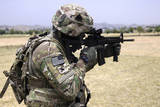 U.S. Army Soldier Pulls Security in Khowst Province, Afghanistan Photographic Print