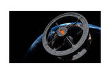 Space Station 5 in Earth Orbit Prints