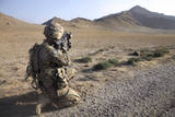 U.S. Army Soldier Pulls Security in Afghanistan Photographic Print