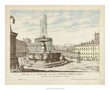 Fountains of Rome V Giclee Print by Vision Studio