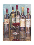 Wine Tasting I Prints by Heather A. French-Roussia