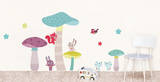 Mushrooms Kids Wall Decals Wall Decal