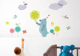 Blue Bear Kids Wall Decal