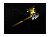 The Cassini Spacecraft in Orbit Posters