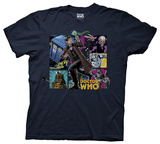 Dr. Who - Comic Doctor Shirts