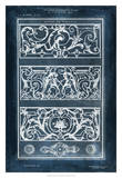 Ornamental Iron Blueprint II Giclee Print by Vision Studio