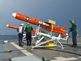 Sailors Perform Pre-Launch Checks on a Bqm-74 Target Drone Photographic Print