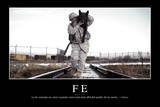 Fe. Cita Inspiradora Y Póster Motivacional Photographic Print