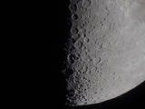South Terminator of 7 Day Moon Photographic Print