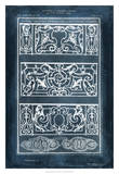 Ornamental Iron Blueprint I Giclee Print by Vision Studio