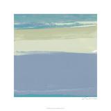 Blue Coast I Giclée-Premiumdruck von Sharon Gordon