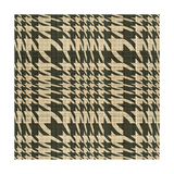 Fabric Pattern Tan Posters