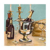 Dinner Party II Giclee Print by Heather A. French-Roussia