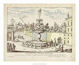 Fountains of Rome III Giclee Print by Vision Studio