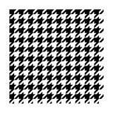 Fabric Pattern Black and White Prints