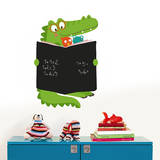 Croco Book Chalkboard Wall Decals Wall Decal