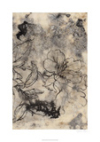 Tattooed Floral II Limited Edition by Jennifer Goldberger