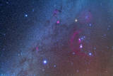 Orion and the Winter Triangle Stars Photographic Print