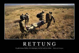 Rettung: Motivationsposter Mit Inspirierendem Zitat Photographic Print