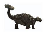 Ankylosaurus, a Heavily Armored Dinosaur from the Cretaceous Period Giclee-tryk i høj kvalitet