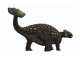Ankylosaurus, a Heavily Armored Dinosaur from the Cretaceous Period Prints