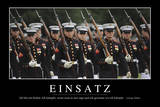 Einsatz: Motivationsposter Mit Inspirierendem Zitat Photographic Print