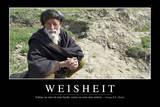 Weisheit: Motivationsposter Mit Inspirierendem Zitat Photographic Print