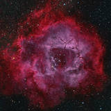 The Rosette Nebula Photographic Print
