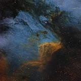 The Pelican Nebula, an H Ii Region in the Constellation Cygnus Photographic Print