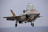 An F-35 Lightning Ii Prepares for Landing Photographic Print