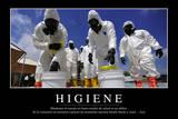 Higiene. Cita Inspiradora Y Póster Motivacional Photographic Print