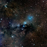 Vdb 123 Reflection Nebula in the Constellation Serpens Photographic Print
