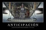 Anticipación. Cita Inspiradora Y Póster Motivacional Photographic Print