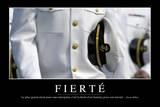 Fierté: Citation Et Affiche D'Inspiration Et Motivation Reprodukcja zdjęcia