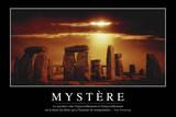Mystère: Citation Et Affiche D'Inspiration Et Motivation Photographic Print