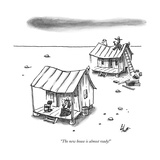 """The new house is almost ready!"" - New Yorker Cartoon Premium Giclee Print by Frank Cotham"