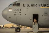 Loadmaster Waits to Preflight a C-17A Globemaster Iii Photographic Print
