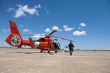 An Mh-65C Dolphin Helicopter of the U.S. Coast Guard Photographic Print