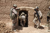 U.S. Marines Search a Compound in Afghanistan Photographic Print