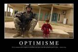 Optimisme: Citation Et Affiche D'Inspiration Et Motivation Photographic Print