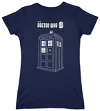 Juniors: Dr. Who - Series 7 Linear Tardis Shirt