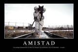 Amistad. Cita Inspiradora Y Póster Motivacional Photographic Print