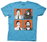 Workaholics - Four Faces T-shirts