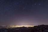 View from Mount Lemmon Overlooking the City of Tucson, Arizona Photographic Print