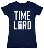 Juniors: Dr. Who - Time Lord With Tardis T-Shirt